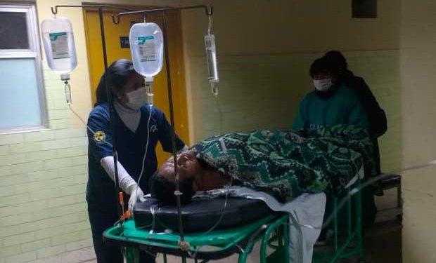 Victimas fueron trasladados hasta un centro hospitalario