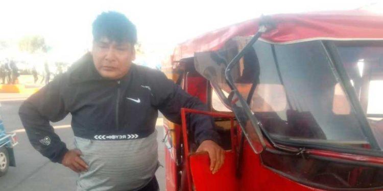 Negligente mototaxista conducía en presunto estado de ebriedad.