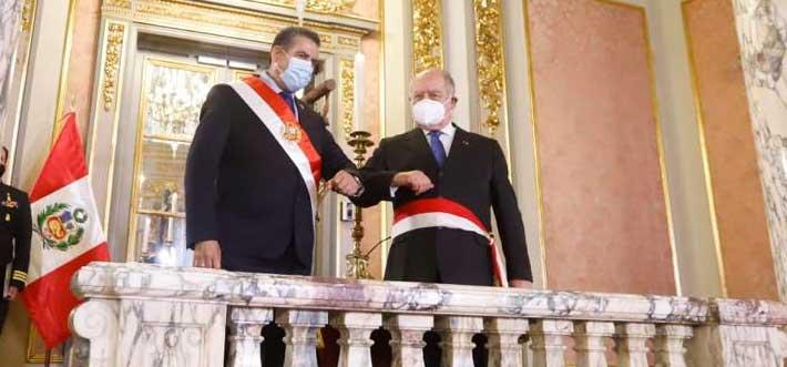 Nuevo Gabinete Ministerial juramentará hoy en la tarde en Palacio de Gobierno
