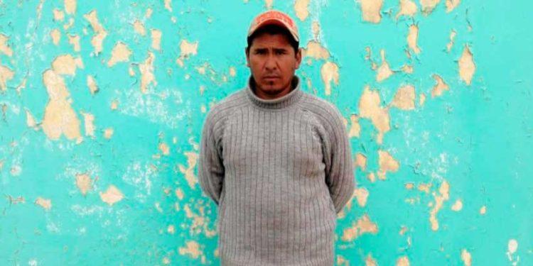 Irresponsable. Conductor ebrio que fue intervenido en via Desaguadero - Moquegua.