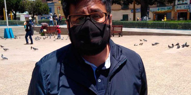 POLITICO. Señala que Orlando Arapa hizo quedar mal al partido Acción Popular