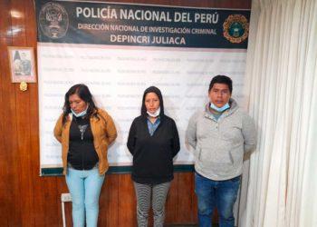 Tres personas acusadas de trata de personas fueron detenidas en la intervención.