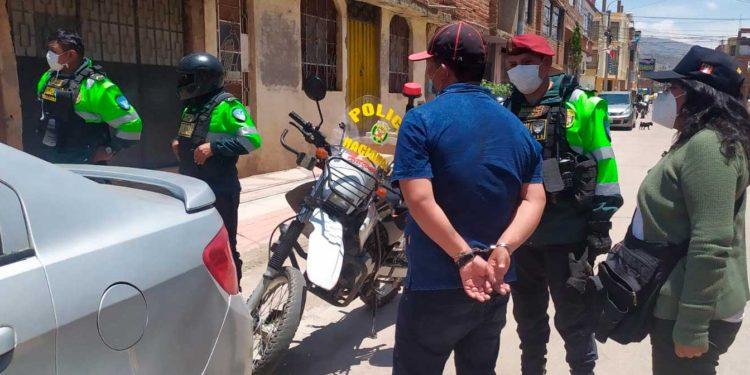 Presuntos ladrones fueron llevados a la comisaria