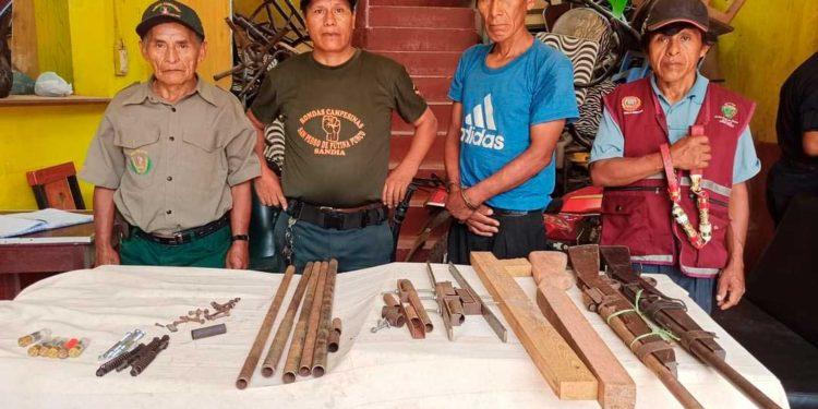 Autoridades descubrieron arsenal de armas artesanales