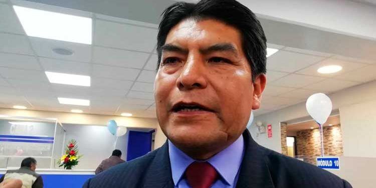 Martin Ticona respaldó nuevo gabinete