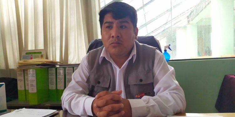 Daniel Sucari Hancco encargado del plan covid en la DREP Puno