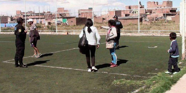 Operativos. Autoriades del orden continuaran intervinieron en plataformas deportivas.