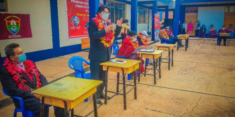 Director Regional de Educación resaltó actividades de programa