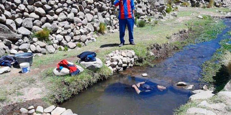 Varón murió en el rio