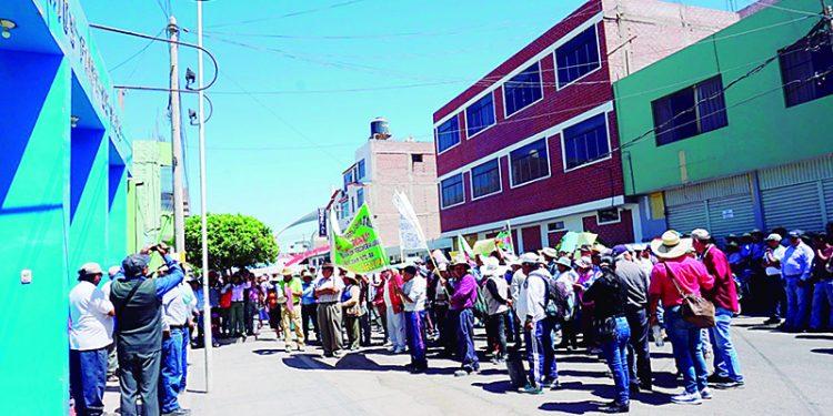 Conflicto social a la vista en Majes por entrega oficial de dotación de agua