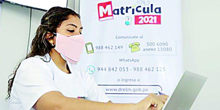 Matrículas escolares 2021 el dolor de cabeza de los padres en Arequipa
