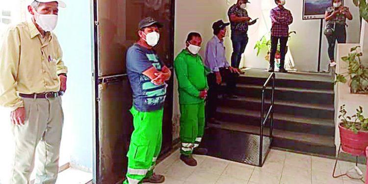 Piden cierre del municipio de Caylloma debido que 6 trabajadores tienen Covid