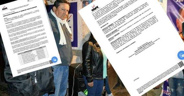 Declaran procedente revocatoria para alcalde provincial de Castilla y siete regidores
