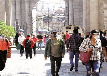 Desde mañana se suspenden las restricciones por la pandemia en Arequipa