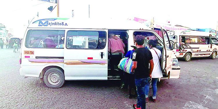 Cuarentena flexible para trabajadores y transportistas del distrito de Majes