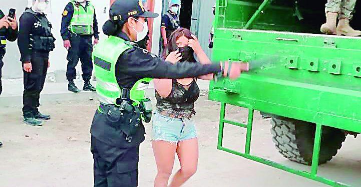 Intervienen a once personas en prostíbulo de Camaná