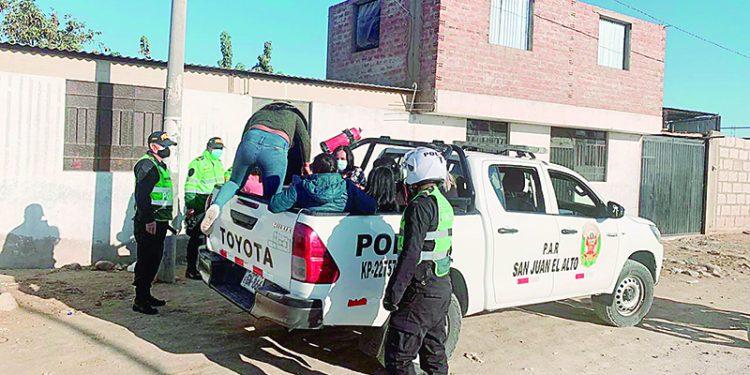 La policía y Fiscalía no harían respetar cuarentena en Majes