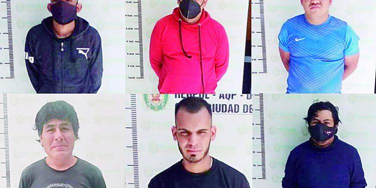 Liberan a 8 presuntos usurpadores de terrenos en Yura