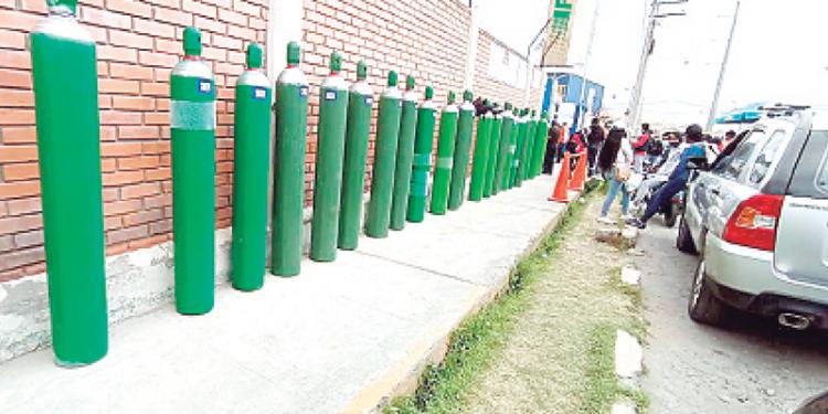 Oxígeno medicinal a punto de escasear en Arequipa