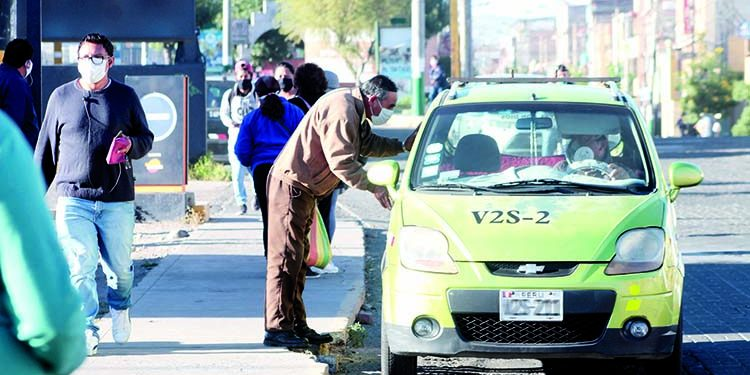 Servicio de taxi será las 24 horas del día en la provincia de Arequipa