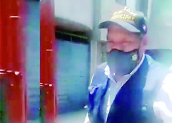 Funcionario de Hunter agrede a ciudadano por grabarle incumpliendo normas sanitarias