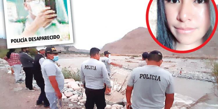 Policía desaparece al intentar rescatar a joven que cayó al río Majes por tomarse un 'selfie'