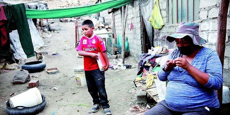 400 niños de El Cebollar tienen la difícil tarea de estudiar con carencias