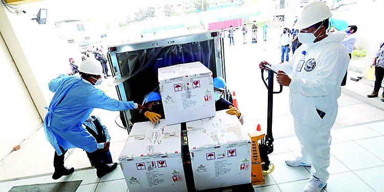 Arequipa sin capacidad para almacenar lote de 10 mil vacunas contra la covid