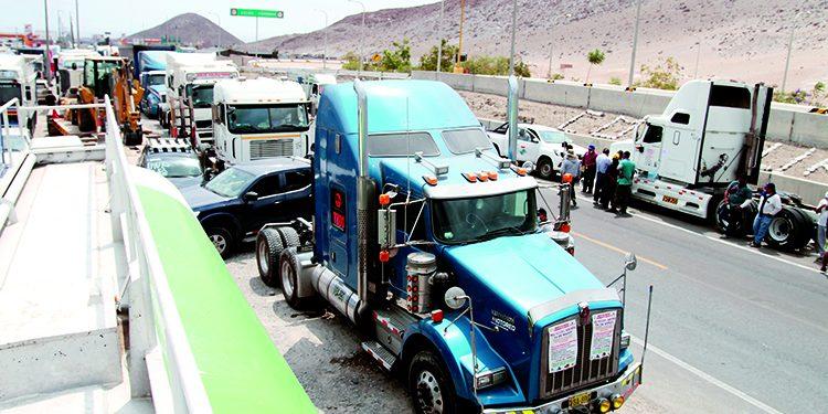 Así se vivió el Día 1 del paro nacional de transporte indefinido