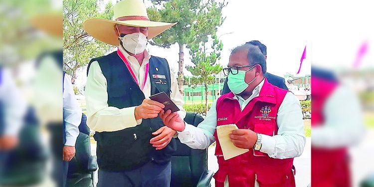 Alcalde Omar Candia pide al presidente Sagasti dinero para obras en Arequipa