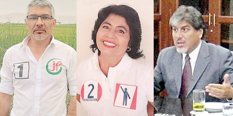 Candidatos buscan representar a Arequipa en el Congreso pero residen en Lima