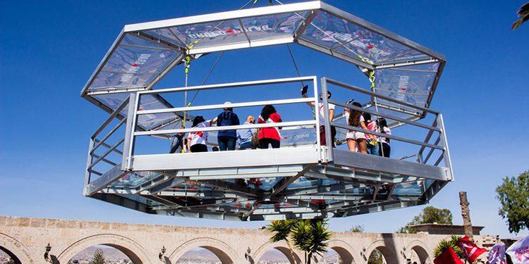 Contraloría halla perjuicio de S/ 3 millones en mirador de vidrio en Yanahuara