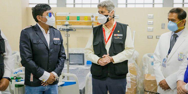 Élmer Cáceres Llica pidió al presidente Sagasti obras y vacunas para Arequipa