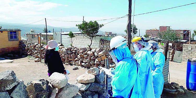 En Arequipa hay leve descenso en los casos de contagio de la COVID-19