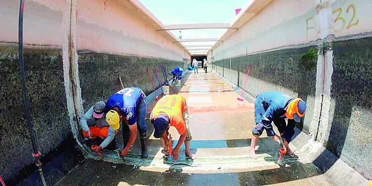 En majes programan tres cortes de agua para reparar tramos del túnel 9 y Terminal