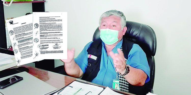 Firman contrato para comprar oxígeno por más de 63 mil soles teniendo tres plantas