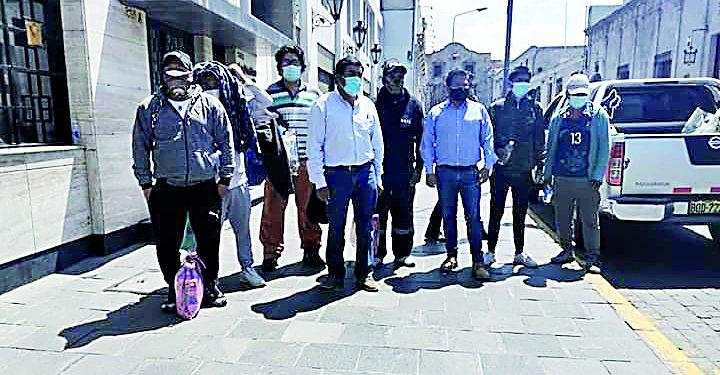 Liberan a 15 ciudadanos detenidos en La Joya que apoyaron paro de transportistas