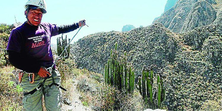Montañista Eloy Cacya Cárdenas propone que en cada provincia haya grupos de rescate