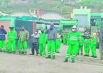 Municipio de Paucarpata denunció a obrero por protestar contra el alcalde José Supo