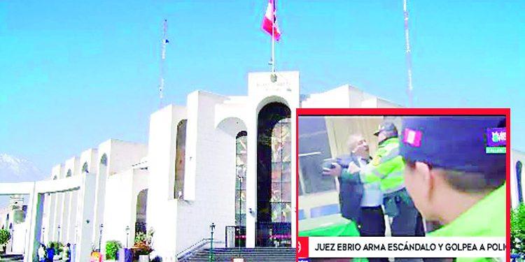 Ocma inhabilita 6 meses a juez superior Óscar Béjar de la Corte de Arequipa