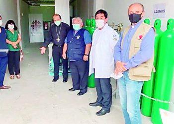 Red de Salud Camaná-Caravelí incumple convenio con Cáritas tras donación de planta de oxígeno