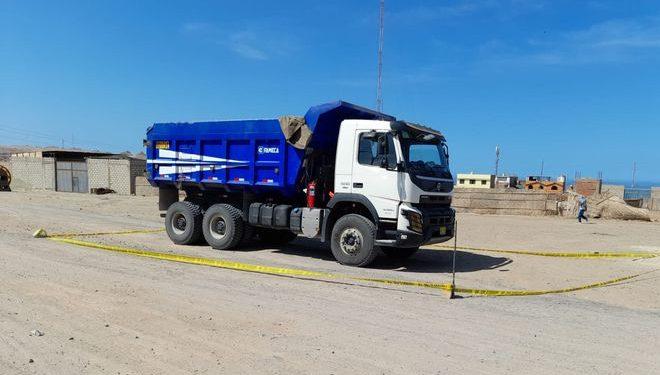 Roban camión que trasladaba 400 sacos de mineral valorizado en S/800 mil