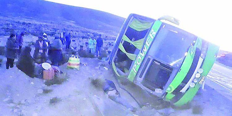 Sector Imata de la carretera Arequipa-Puno es una vía con más accidentes de tránsito