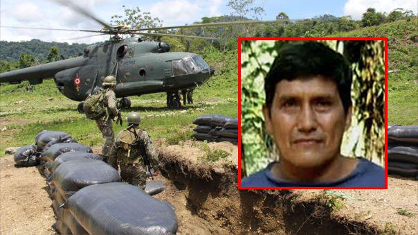 Confirman muerte de terrorista Quispe Palomino, cabecilla de Sendero Luminoso