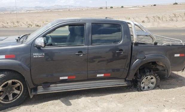 Presunto contrabandista terminó con herida de bala al internar fugar de la policía