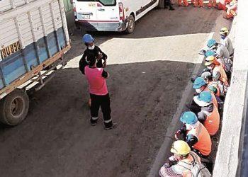 Piden al GRA cuarentena en obra de Pampacolca por alto índice de contagio de covid