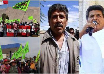 Aceptan pedido de apelación de sentencia condenatoria de dirigentes del Valle de Tambo