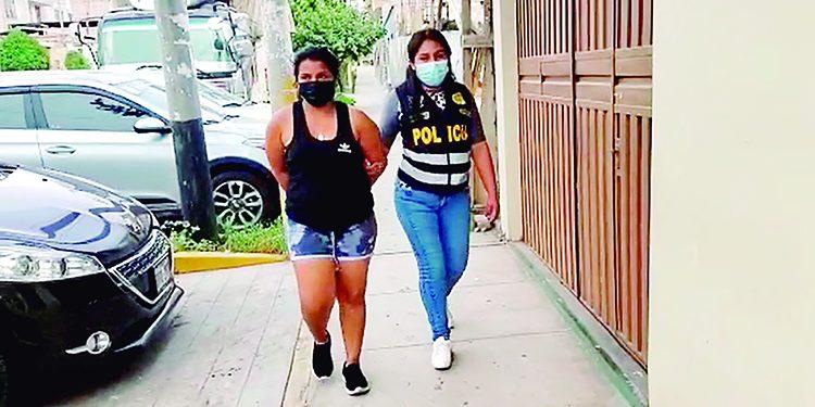 Detienen a extranjera que traía de Lima 13 kilos de marihuana camufladas en extintor