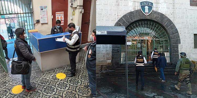 Desarticulan organización criminal integrada por trabajadores del INPE de Arequipa y Tacna
