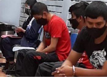 Capturan a 'Los pulpines de la avenida Progreso' con marihuana y dos celulares robados